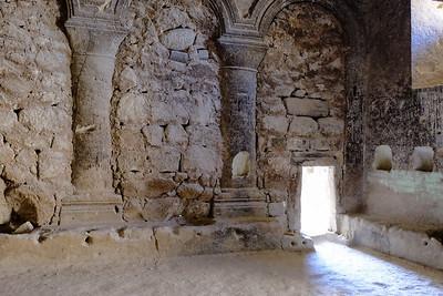 Church of St. John the Baptist. Rose and Red Valleys - Cappadocia, Turkey.