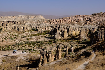 Rose and Red Valleys - Cappadocia, Turkey.