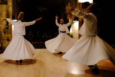 Whirling Dervishes Ceremony .