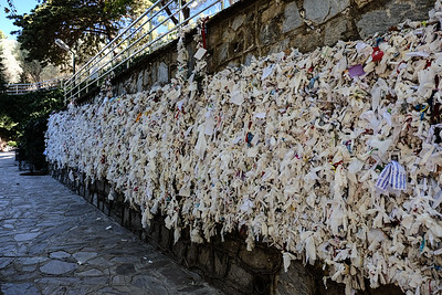 The wishing wall.
