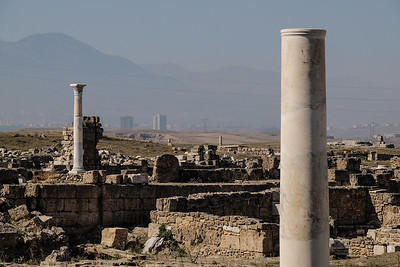 City of Laodicea, one of the Seven Cities of Revelation - Denizli Province, Turkey.