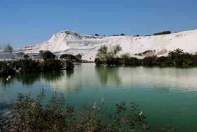 Pamukkale Lake.