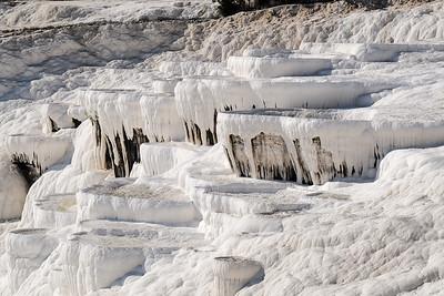 """Travertine Terraces of Pamukkale - The """"Cotton Castle""""."""