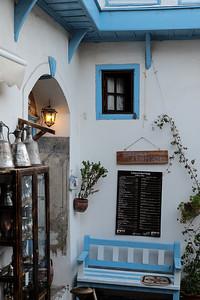 Kirkinca Hotel and shops.