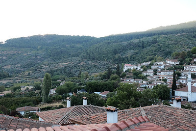 Overlooking the village of Sirince.