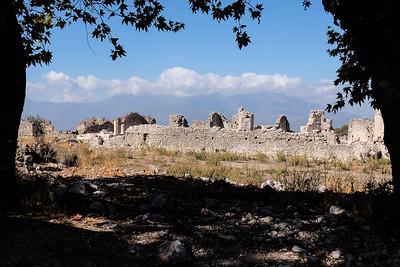 Ancient City of Tlos - Fethiye, Turkey.