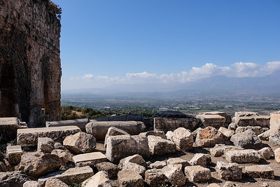 View over Xanthos Valley.