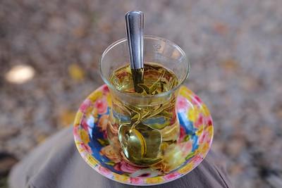 Sage tea.