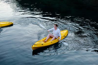 Some kayaking...