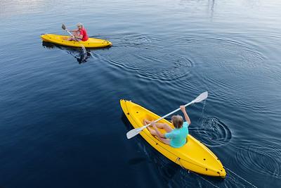 more kayaking....