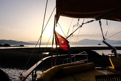 Early morning Yassica Island, Gocek Islands - Fethiye Bay, Turkey.