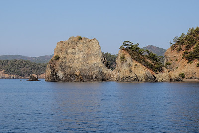 Heading to Kucuk Kargi Bay, Gocek Islands - Fethiye Bay, Turkey.