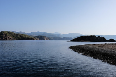 Early morning Yassica Island, Gocek Islands - Fethiye Bay, Turkey.