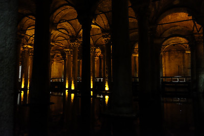 The cistern was opened for public viewing in 1987.