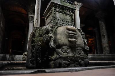 The Basilica Cistern. Sultanahmet Square - Istanbul, Turkey.