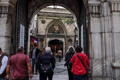 Entrance to the Grand Bazaar.