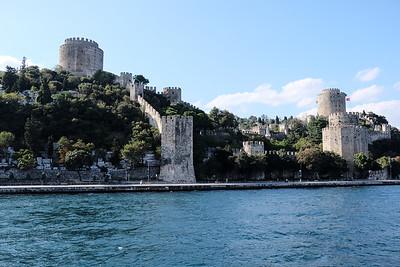 Rumeli Hisarı Fortress.