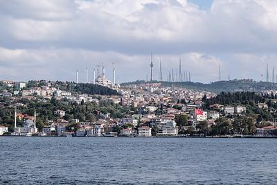 Along the Bosphorus - Istanbul, Turkey.
