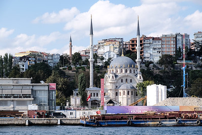 View Istanbul Nusretiye Mosque.