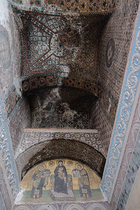 Ceiling restoration Inner Narthex.