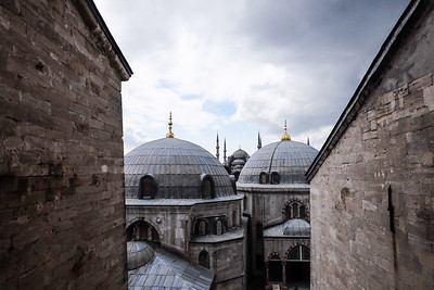 View to the Blue Mosque.