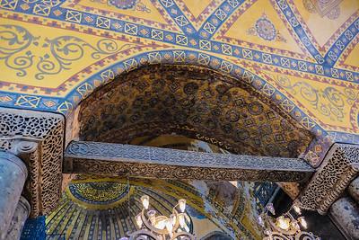 Restoration of ornate details.