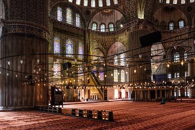 The prayer hall.