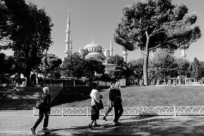 The Sultan Ahmet Mosque - Blue Mosque.