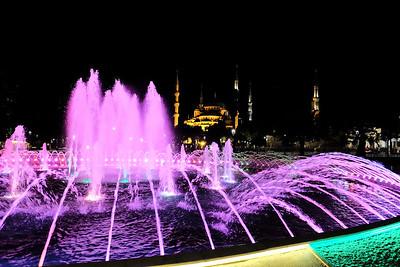 The Blue Mosque, Sultanahmet Square - Istanbul, Turkey.