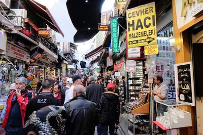 In the Bazaar Quarter.