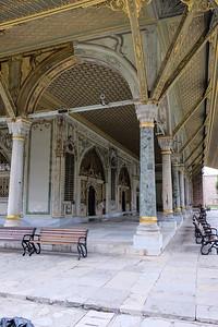 Entrance to the Divan.