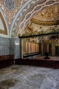 Inside the Divan.