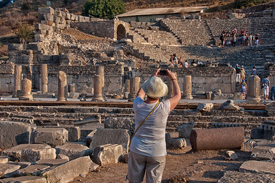 Ephesus (with Bonnie photographing)