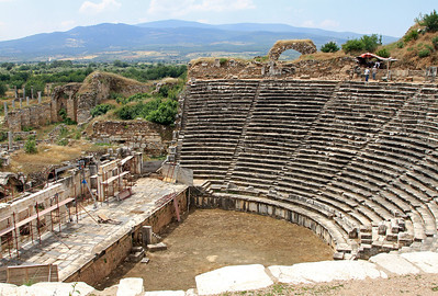 Aphrodisias - The theatre, completed in 27BC.