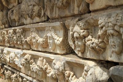 Aphrodisias - Carved stone reliefs.