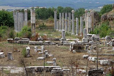 Aphrodisias - Columns.