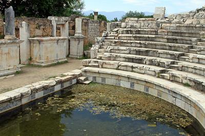 Aphrodisias - Odeum, small theatre.