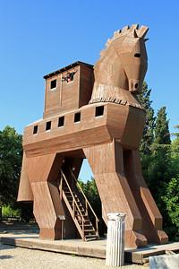 Trojan Horse, Troy.