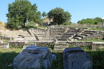 Troy - Odeon (Roman?), Troy IX.
