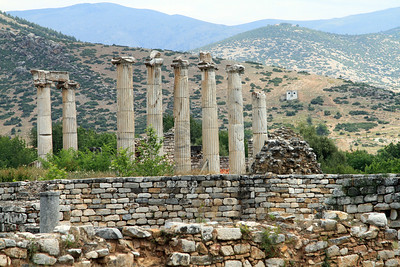 Aphrodisias - Columns of the Temple of Aphrodite.