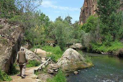 Ihlara Valley, Cappdocia.