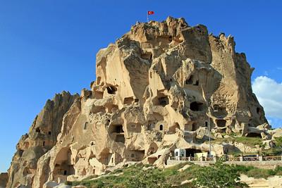 Uchisar Castle, Cappadocia.