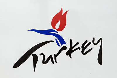 Turkey (this is a photo of the logo on the side of a bus in Uchisar).