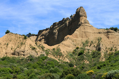 The landmark known as 'The Sphinx' was named as it resembled the Sphinx in Cairo where the ANZAC's were training before being deployed to Gallipoli.  This is the view of the cliffs from near ANZAC Cove.