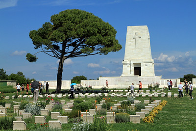 The Australian cemetery at Lone Pine.