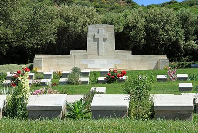 Ari Burnu Cemetery, ANZAC Cove.