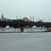 Hagia Sophia and Blue Mosque, early morning