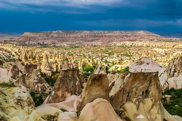 After a storm in Cappadocia