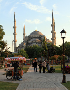 The Blue Mosque and Sultanahmet Square.