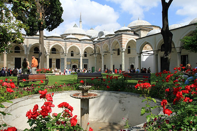 Part of the Third Courtyard, Topkapi Palace,